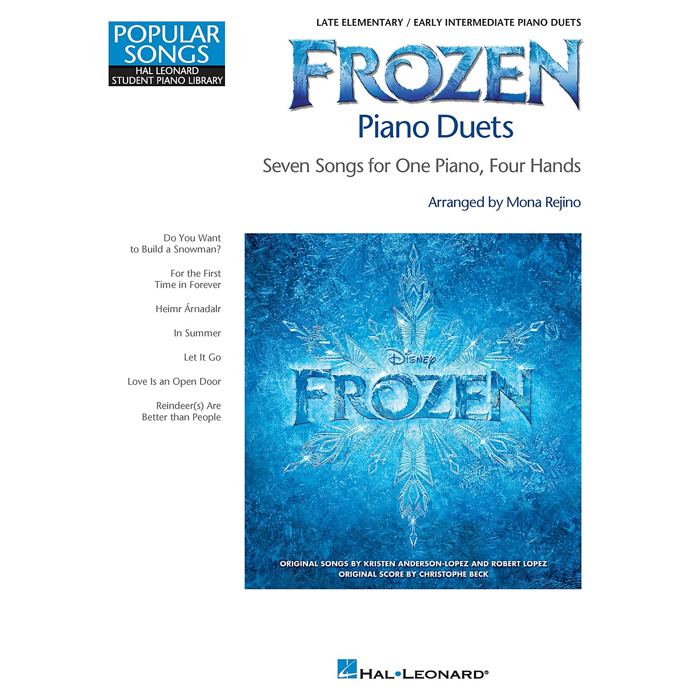 Hal Leonard Frozen Piano Duets Piano Library Series Book (Level Late Elem) thumbnail