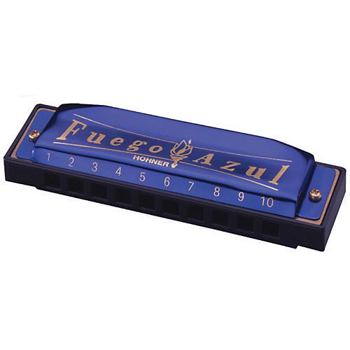 Hohner Fuego Azul Harmonica Key of C thumbnail