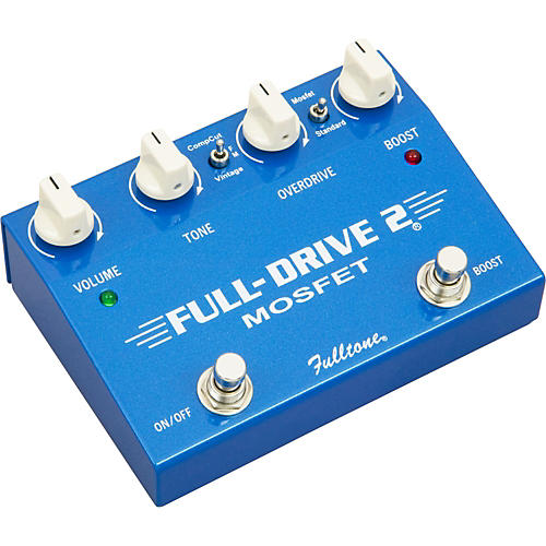 Fulltone Fulldrive2 MOSFET Overdrive/Clean Boost Guitar Effects Pedal thumbnail