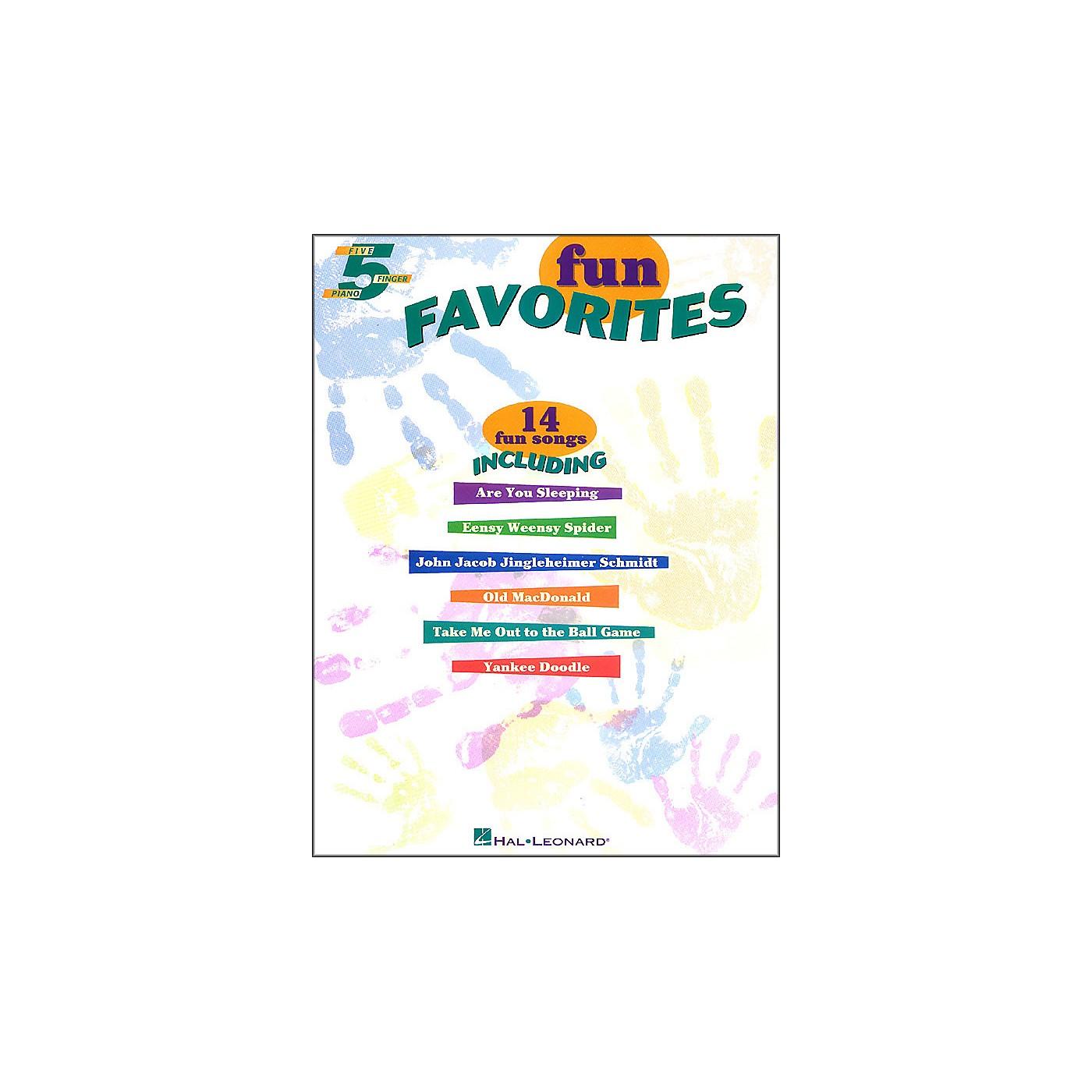 Hal Leonard Fun Favorites for Five Finger Piano thumbnail