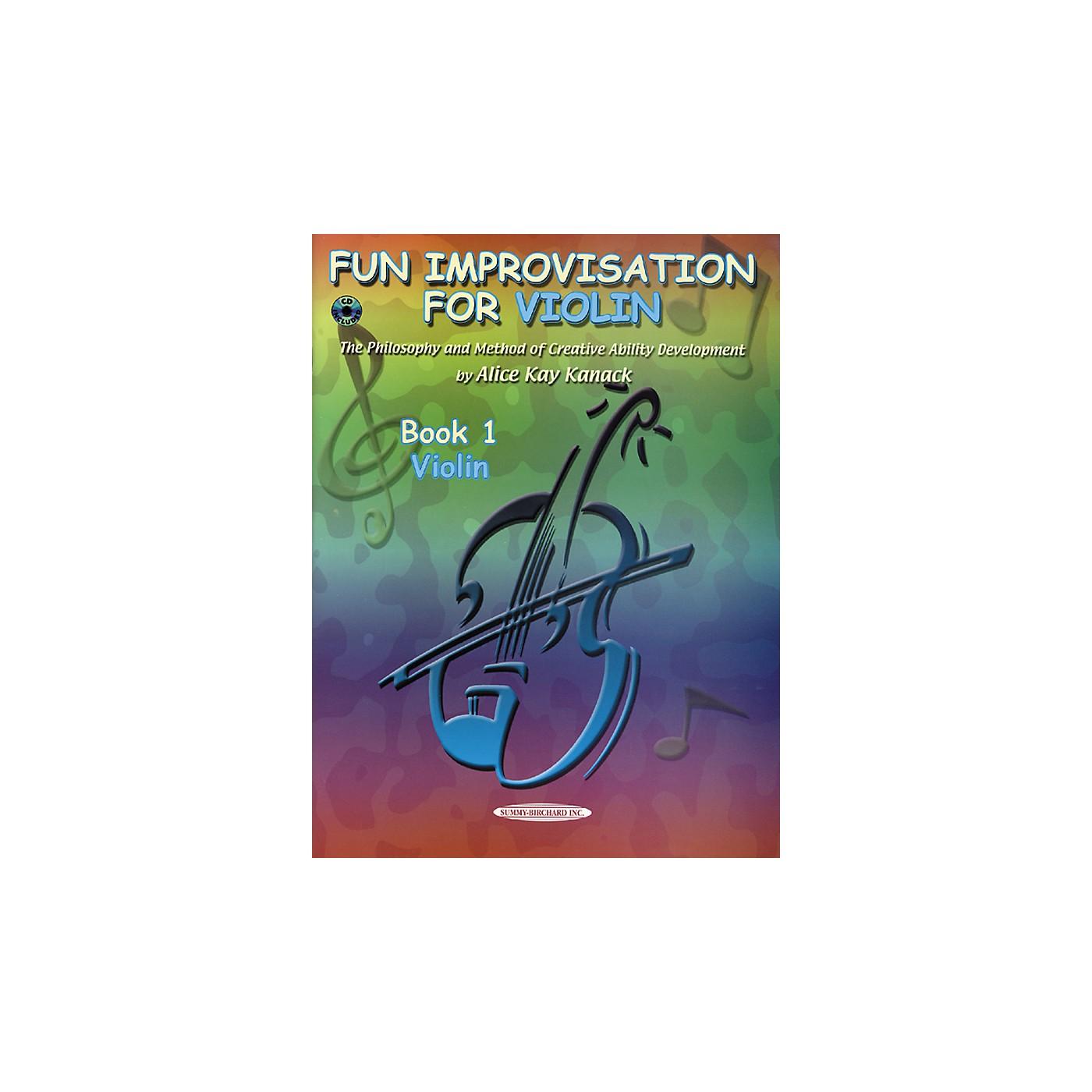 Alfred Fun Improvisation (Book/CD) thumbnail