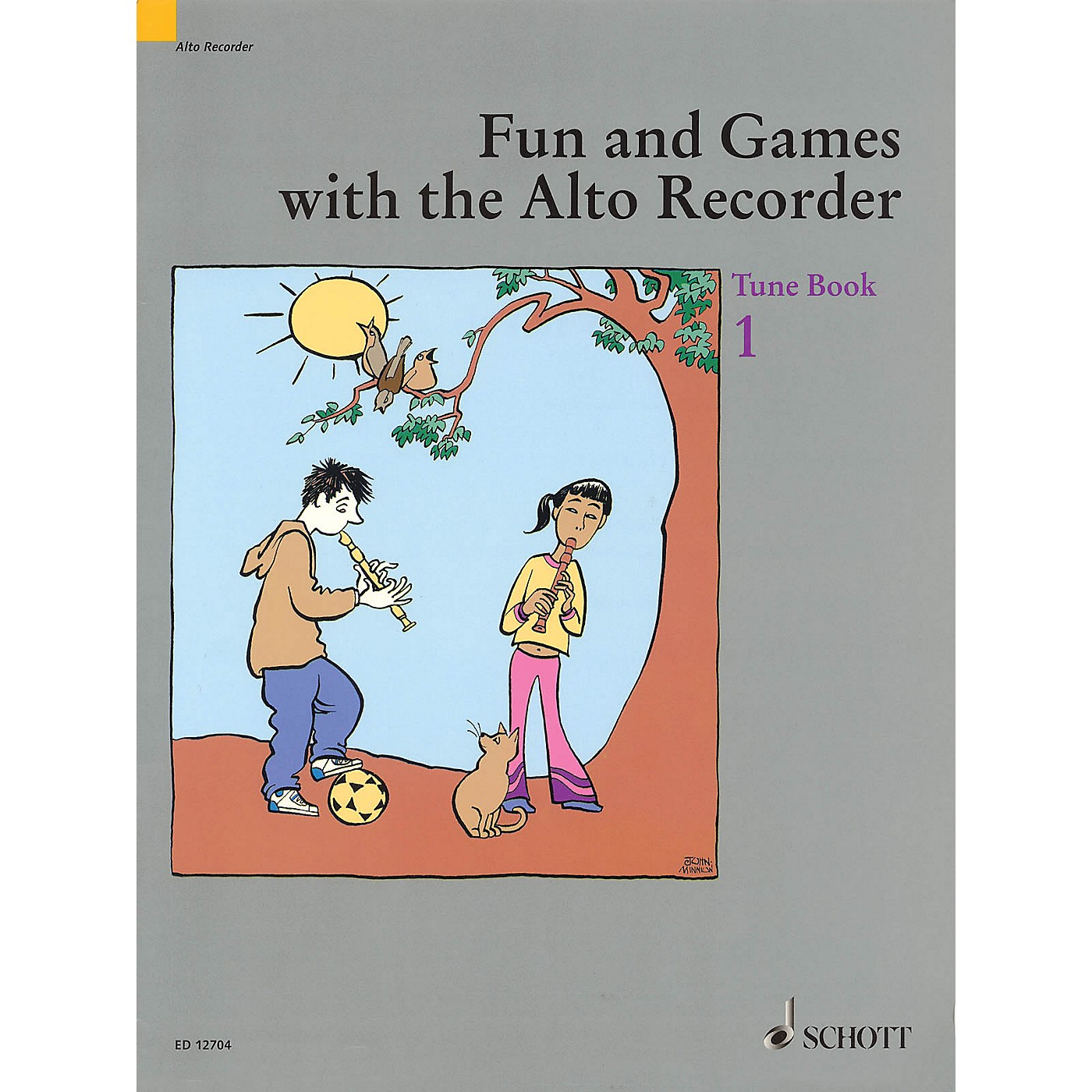 Schott Fun and Games with the Alto Recorder (Tune Book 1) Schott Series thumbnail