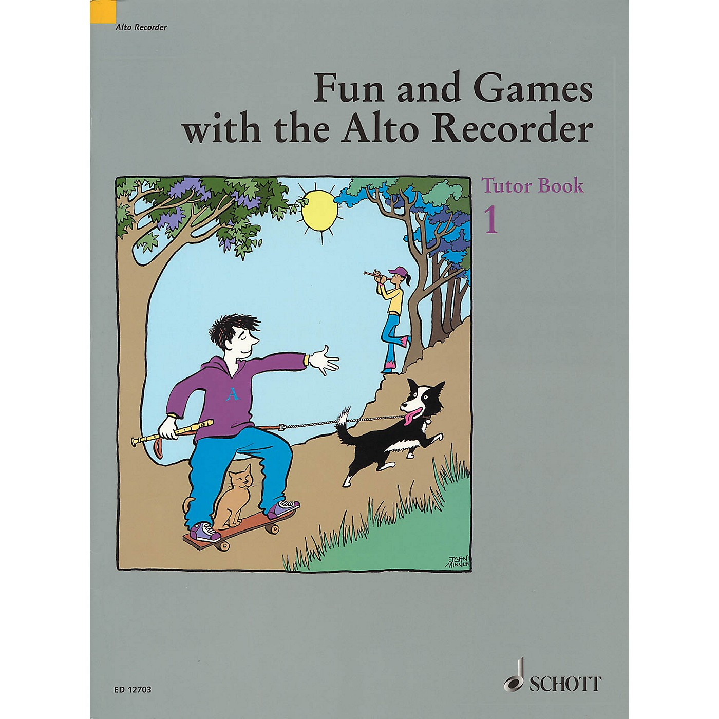 Schott Fun and Games with the Alto Recorder (Tutor Book 1) Schott Series thumbnail