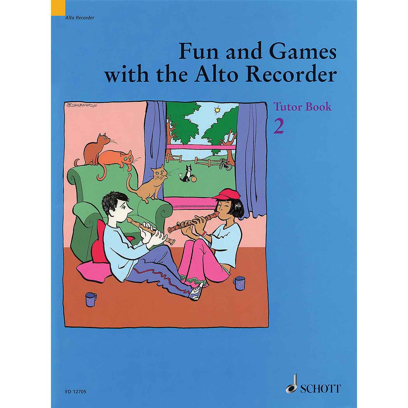 Schott Fun and Games with the Alto Recorder (Tutor Book 2) Schott Series thumbnail