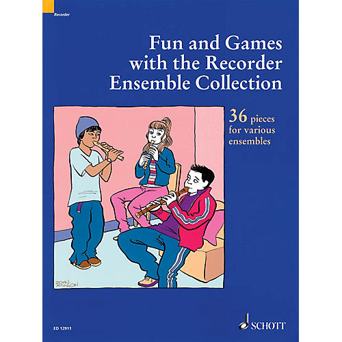 Schott Fun and Games with the Recorder - Ensemble Collection (36 Pieces for Various Ensembles) Misc Series thumbnail