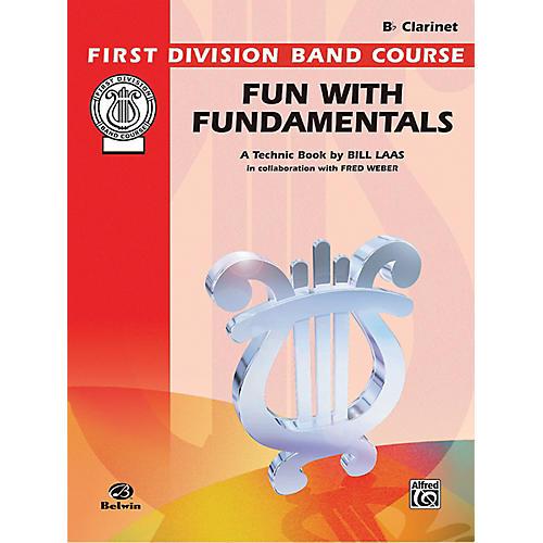Alfred Fun with Fundamentals B-Flat Clarinet Book thumbnail