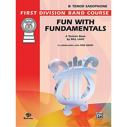 Alfred Fun with Fundamentals B-Flat Tenor Saxophone Book thumbnail