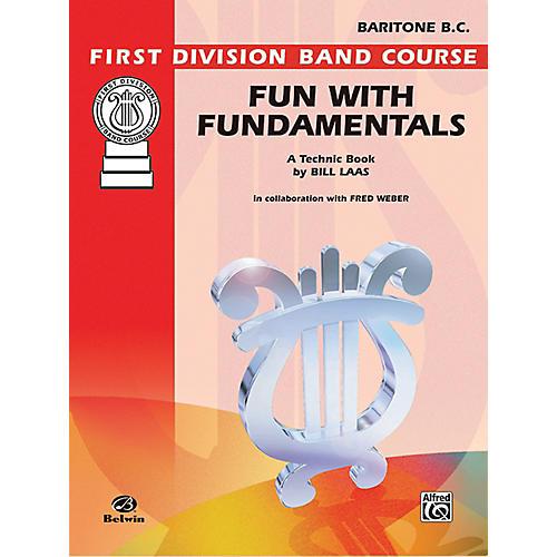 Alfred Fun with Fundamentals Baritone (B.C.) Book thumbnail