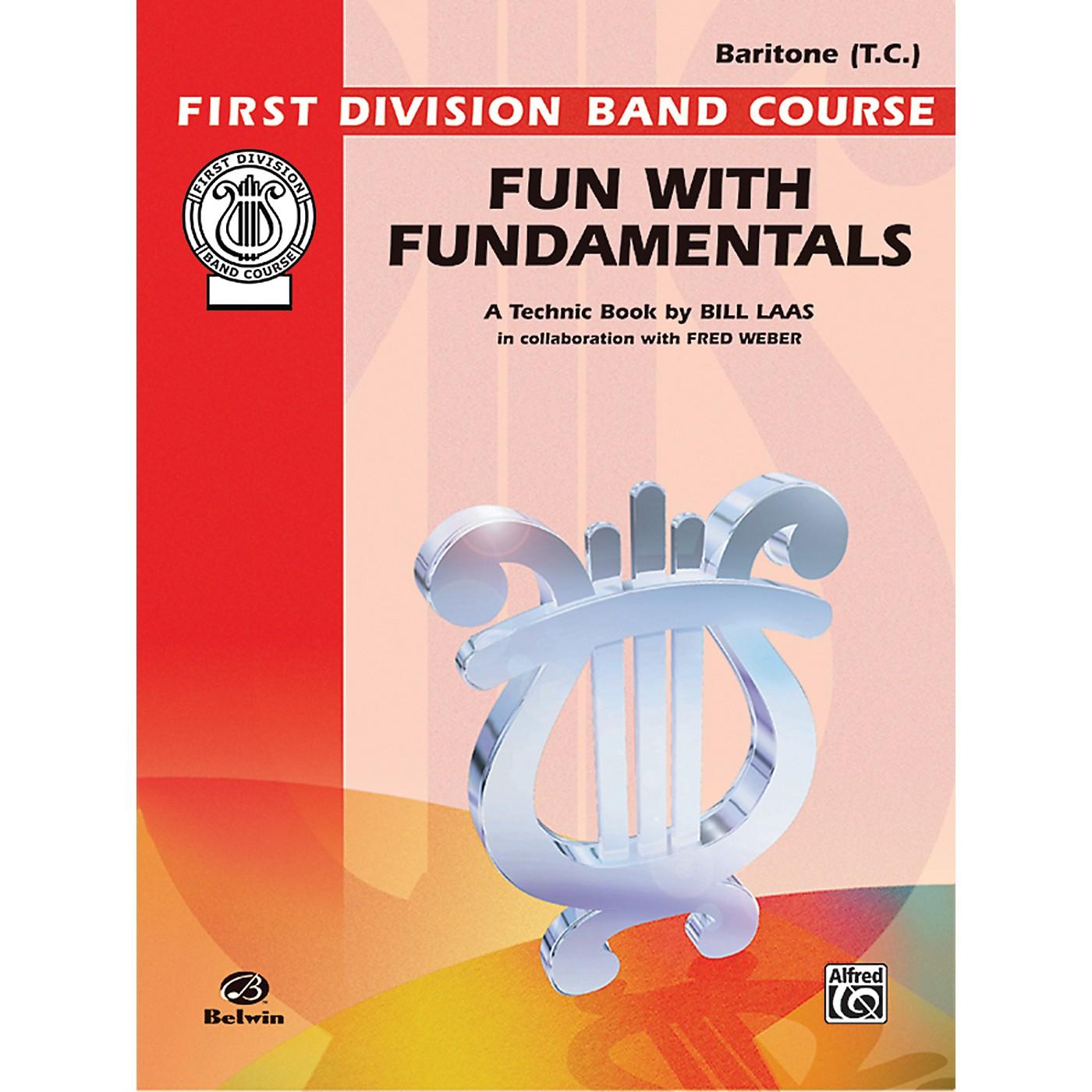 Alfred Fun with Fundamentals Baritone (T.C.) Book thumbnail