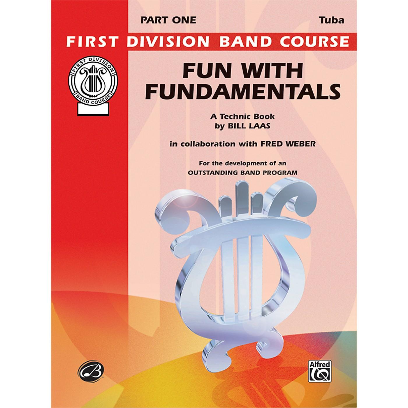 Alfred Fun with Fundamentals Bass (Tuba) Book thumbnail