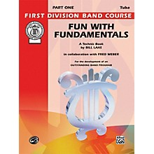Alfred Fun with Fundamentals Bass (Tuba) Book