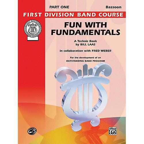 Alfred Fun with Fundamentals Bassoon Book thumbnail