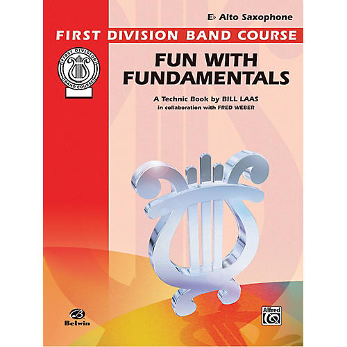Alfred Fun with Fundamentals E-Flat Alto Saxophone Book thumbnail