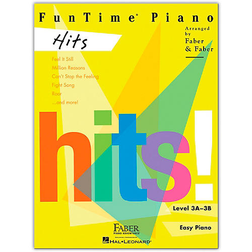 Faber Piano Adventures FunTime Piano Hits Level 3A-3B thumbnail