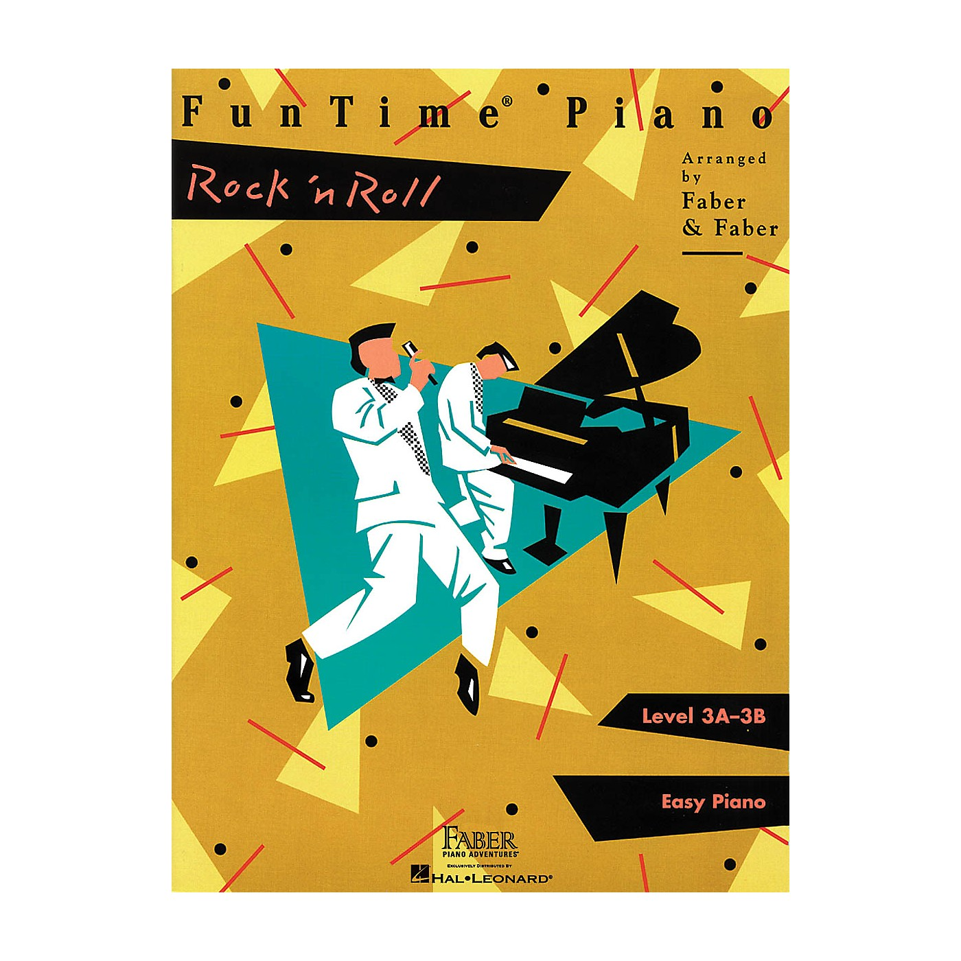 Faber Piano Adventures FunTime Piano Rock 'n' Roll Level 3A-3B thumbnail