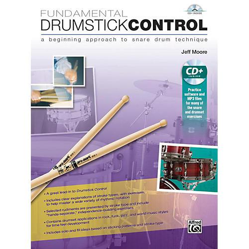 Alfred Fundamental Drumstick Control Book & CD thumbnail
