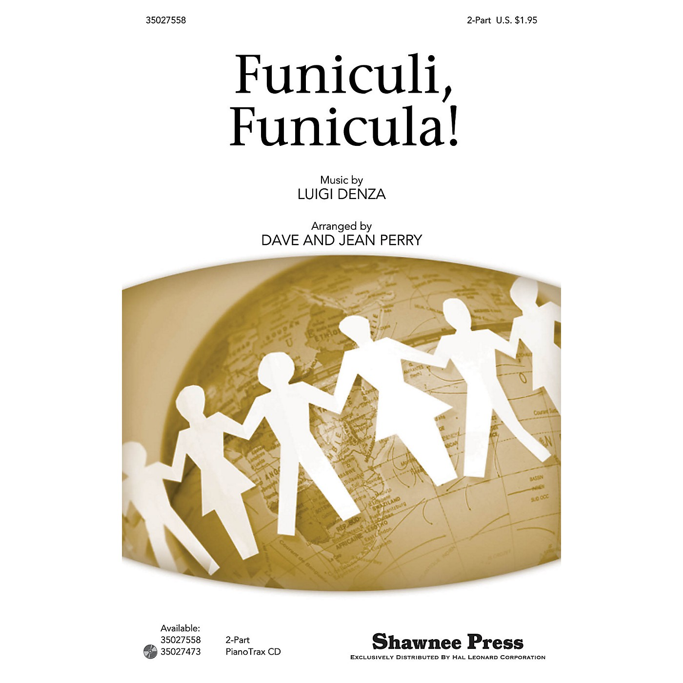 Shawnee Press Funiculi, Funicula! 2-Part arranged by Dave Perry thumbnail