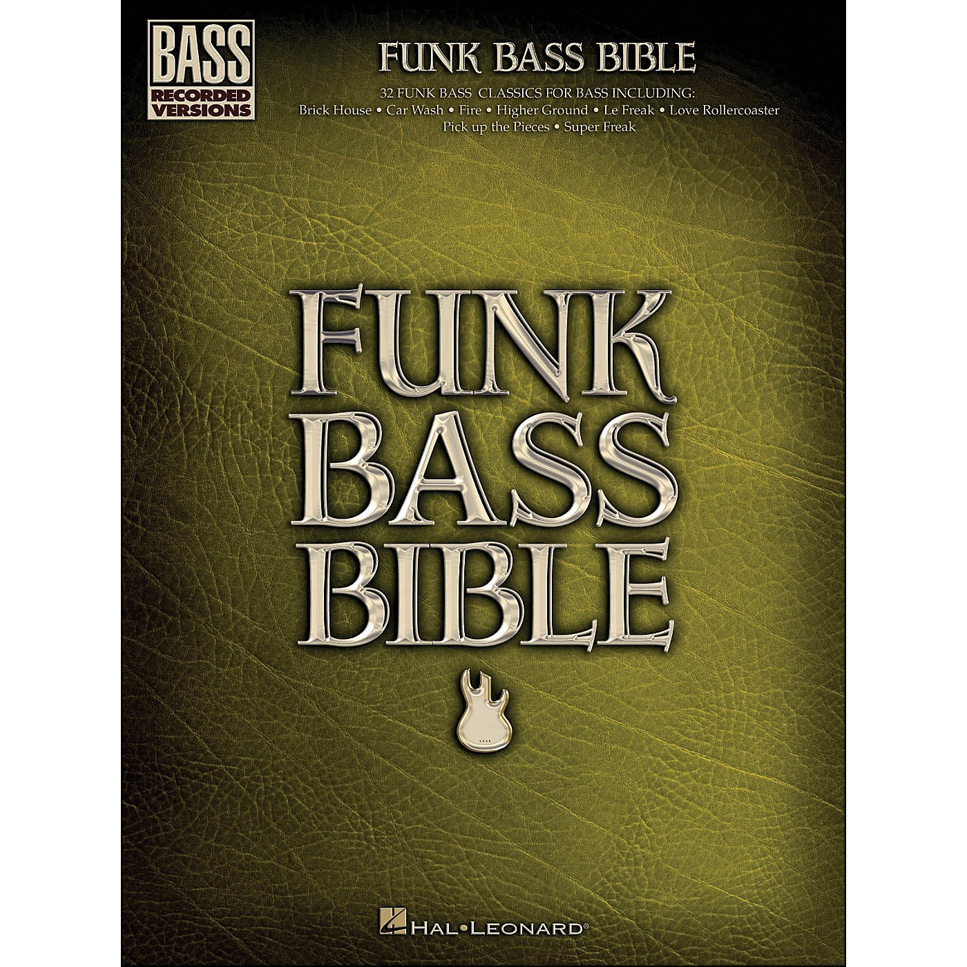 Hal Leonard Funk Bass Bible - Bass Tab Songbook thumbnail