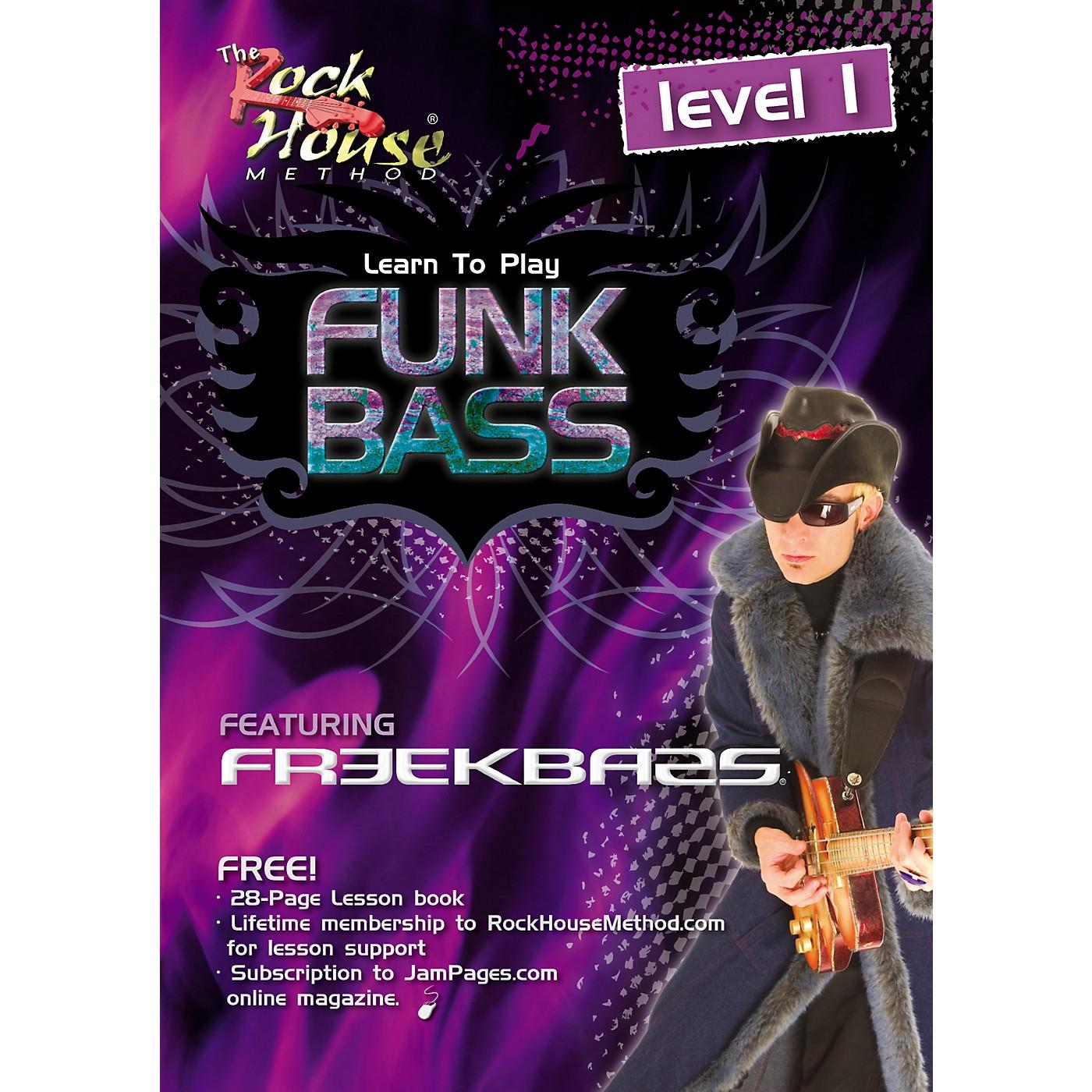 Hal Leonard Funk Bass Level 1 with Freekbass (DVD) thumbnail