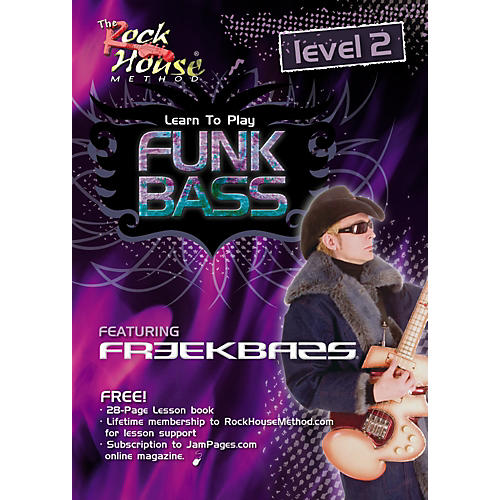Hal Leonard Funk Bass Level 2 with Freekbass (DVD) thumbnail