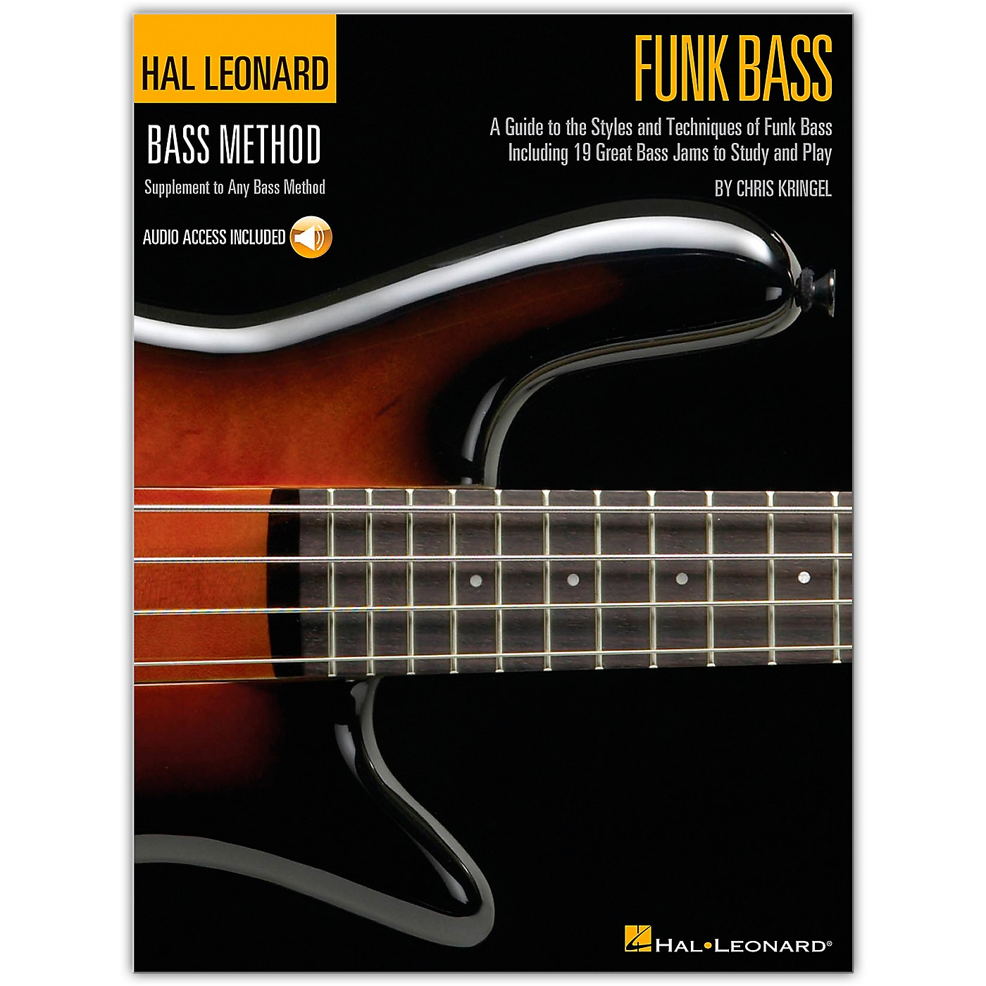 Hal Leonard Funk Bass Method (Book/Online Audio) thumbnail