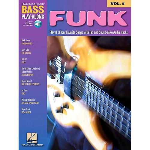 Hal Leonard Funk Bass Play-Along Series Book with CD thumbnail