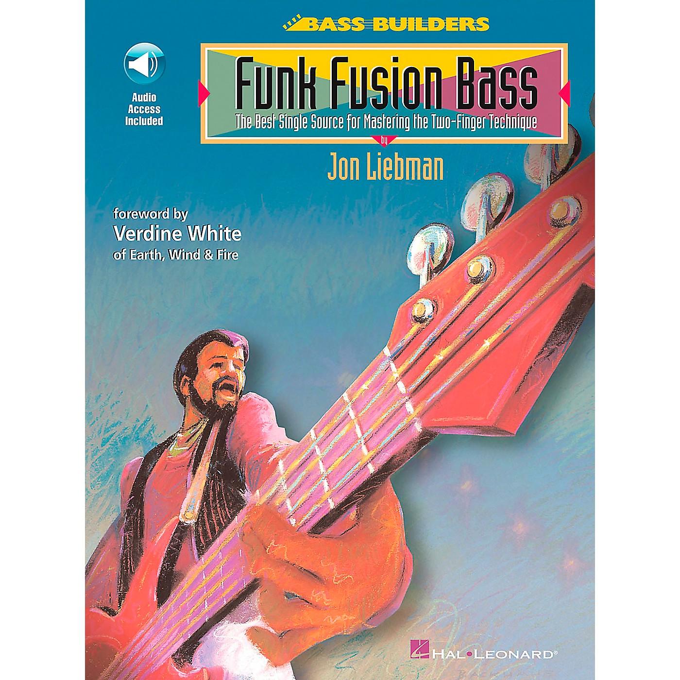 Hal Leonard Funk Fusion Bass Book/CD thumbnail