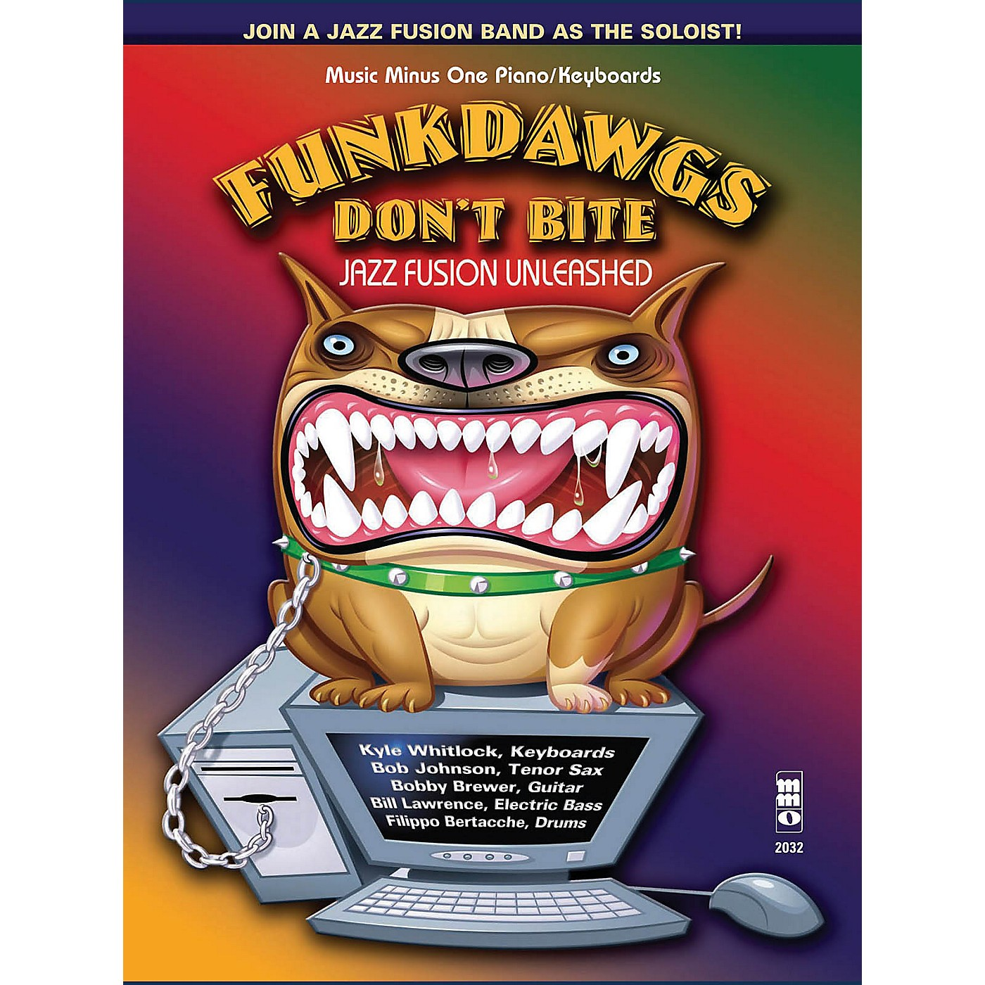 Music Minus One Funkdawgs Don't Bite - Jazz Fusion Unleashed (Guitar) Music Minus One Series Softcover with CD thumbnail