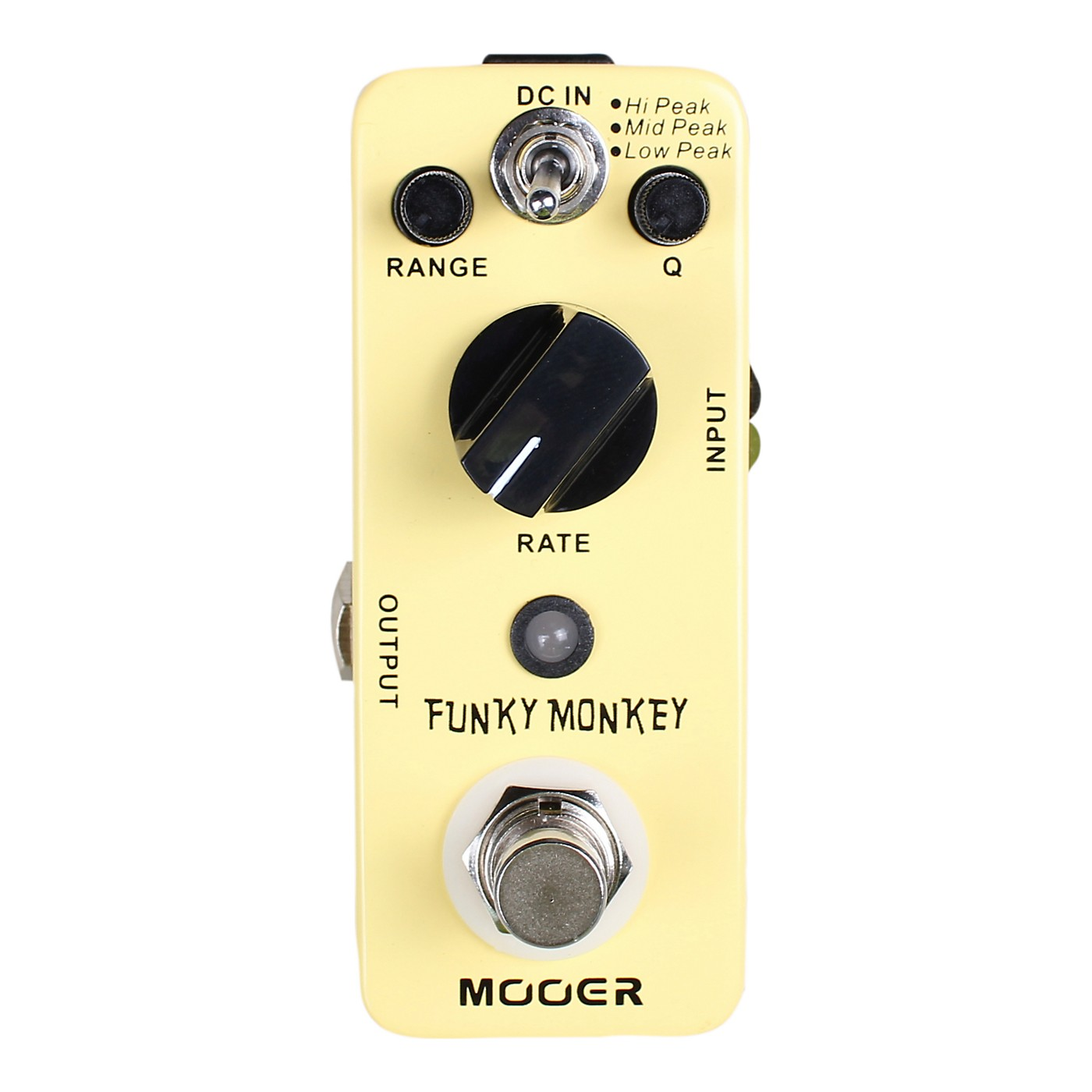 Mooer Funky Monkey Digital Auto Wah Guitar Effects Pedal thumbnail