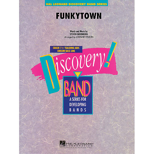 Hal Leonard Funkytown Concert Band Level 1.5 Arranged by Johnnie Vinson thumbnail
