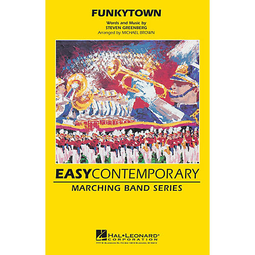 Hal Leonard Funkytown Marching Band Level 2 Arranged by Michael Brown thumbnail