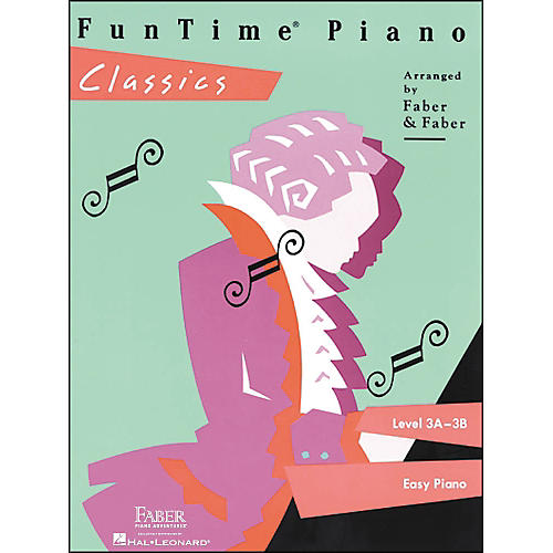 Faber Piano Adventures Funtime Piano Classics Level 3A-3B for Easy Piano - Faber Piano thumbnail