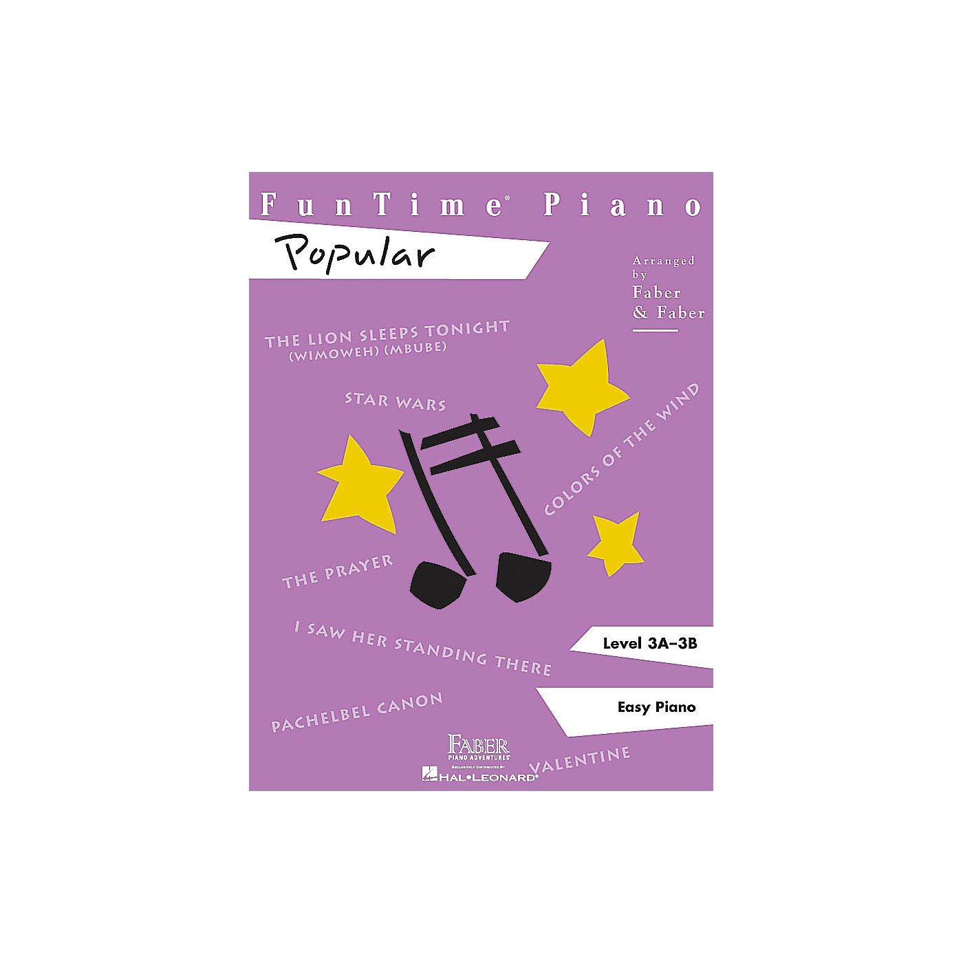 Faber Piano Adventures Funtime Piano Popular CD (Enhanced CD with MIDI Files) Faber Piano Adventures Series CD (Level 3A-3B) thumbnail