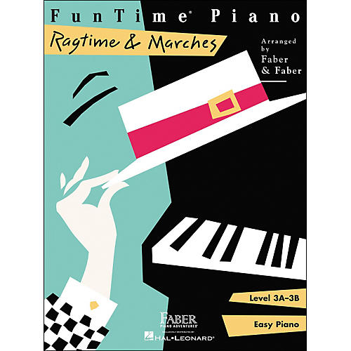 Faber Piano Adventures Funtime Piano Ragtime And Marches Level 3A-3B Easy Piano - Faber Piano thumbnail