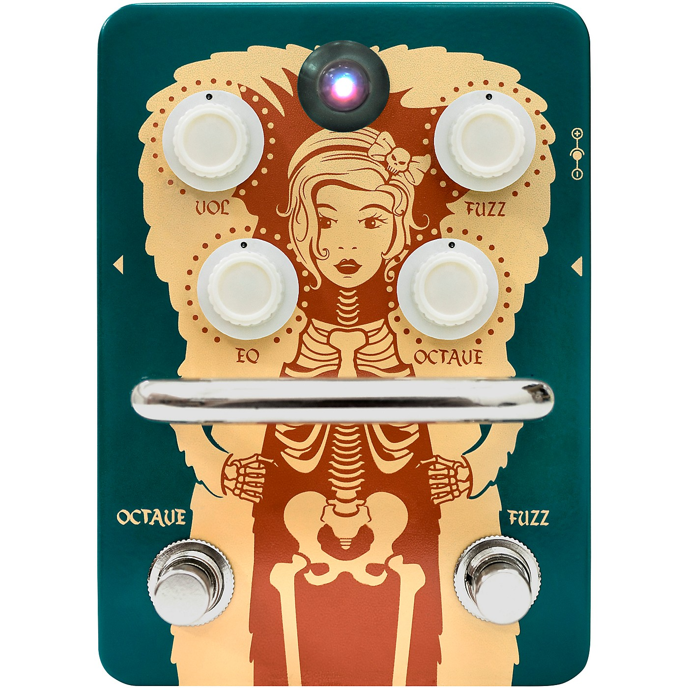 Orange Amplifiers Fur Coat Fuzz/Octave Effects Pedal thumbnail