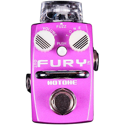 Hotone Effects Fury Fuzz Skyline Series Guitar Effects Pedal thumbnail