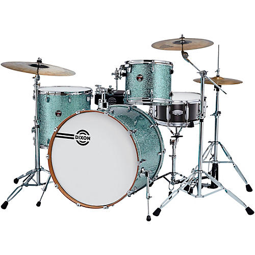 Dixon Fuse Gregg Bissonette Profile Maple 4-Piece Shell Pack with Signature Snare Drum thumbnail
