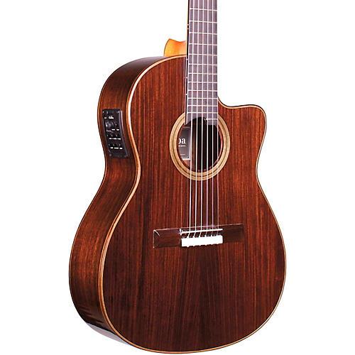 Cordoba Fusion 12 Rose Acoustic-Electric Nylon String Classical Guitar-thumbnail