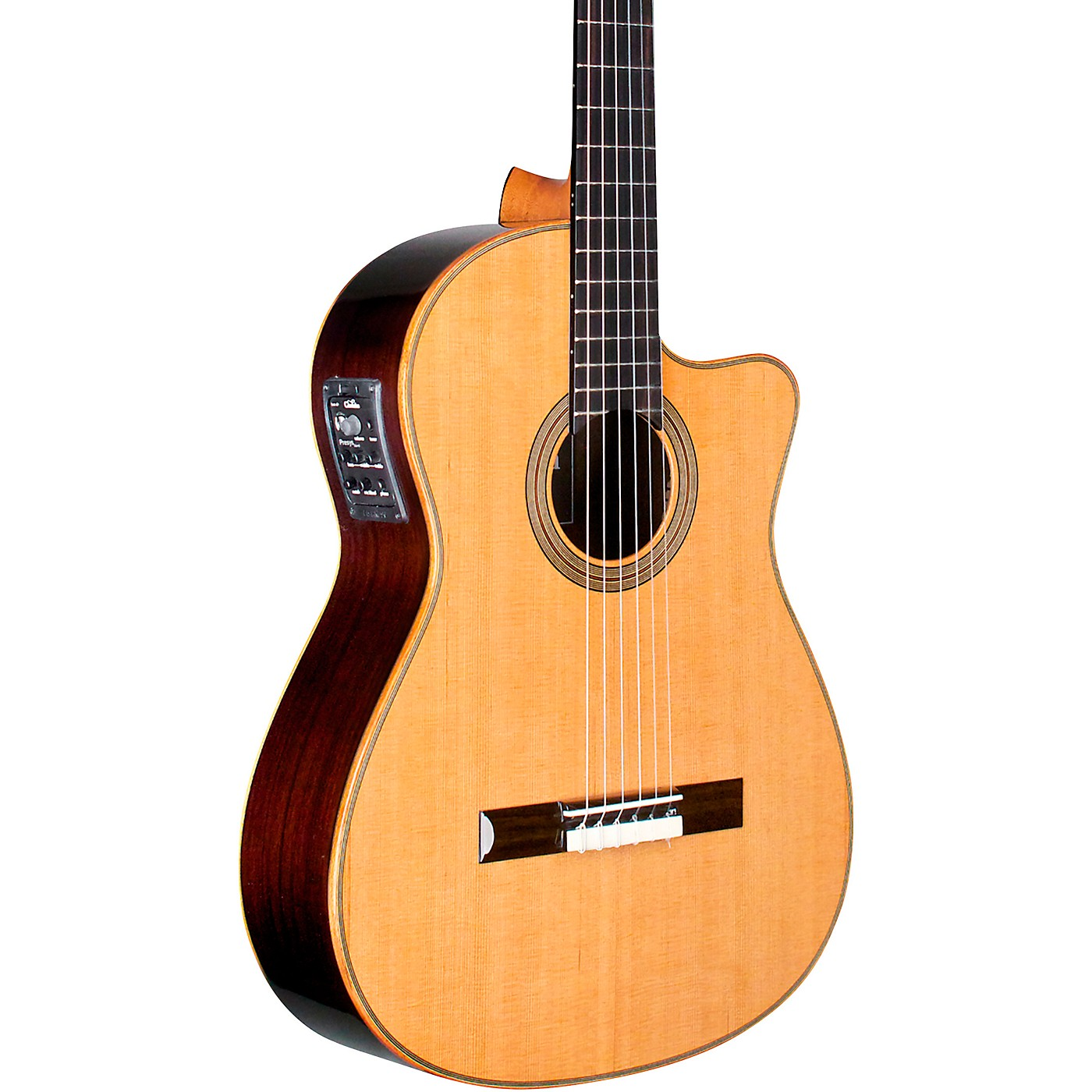 Cordoba Fusion Orchestra CE Crossover Classical Acoustic-Electric Guitar thumbnail