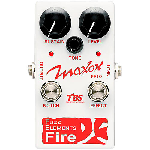 Maxon Fuzz Elements Fire Guitar Fuzz Pedal thumbnail