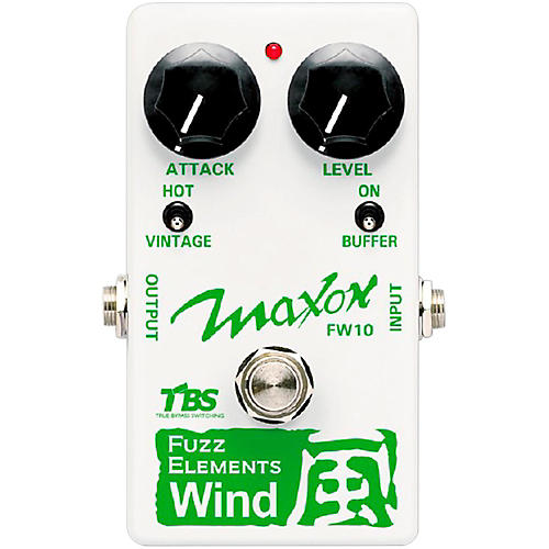 Maxon Fuzz Elements Wind Guitar Fuzz Pedal thumbnail