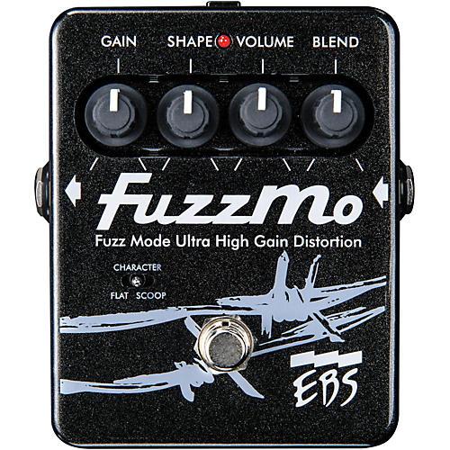 EBS FuzzMo Ultra High Gain Distortion Guitar Effects Pedal thumbnail