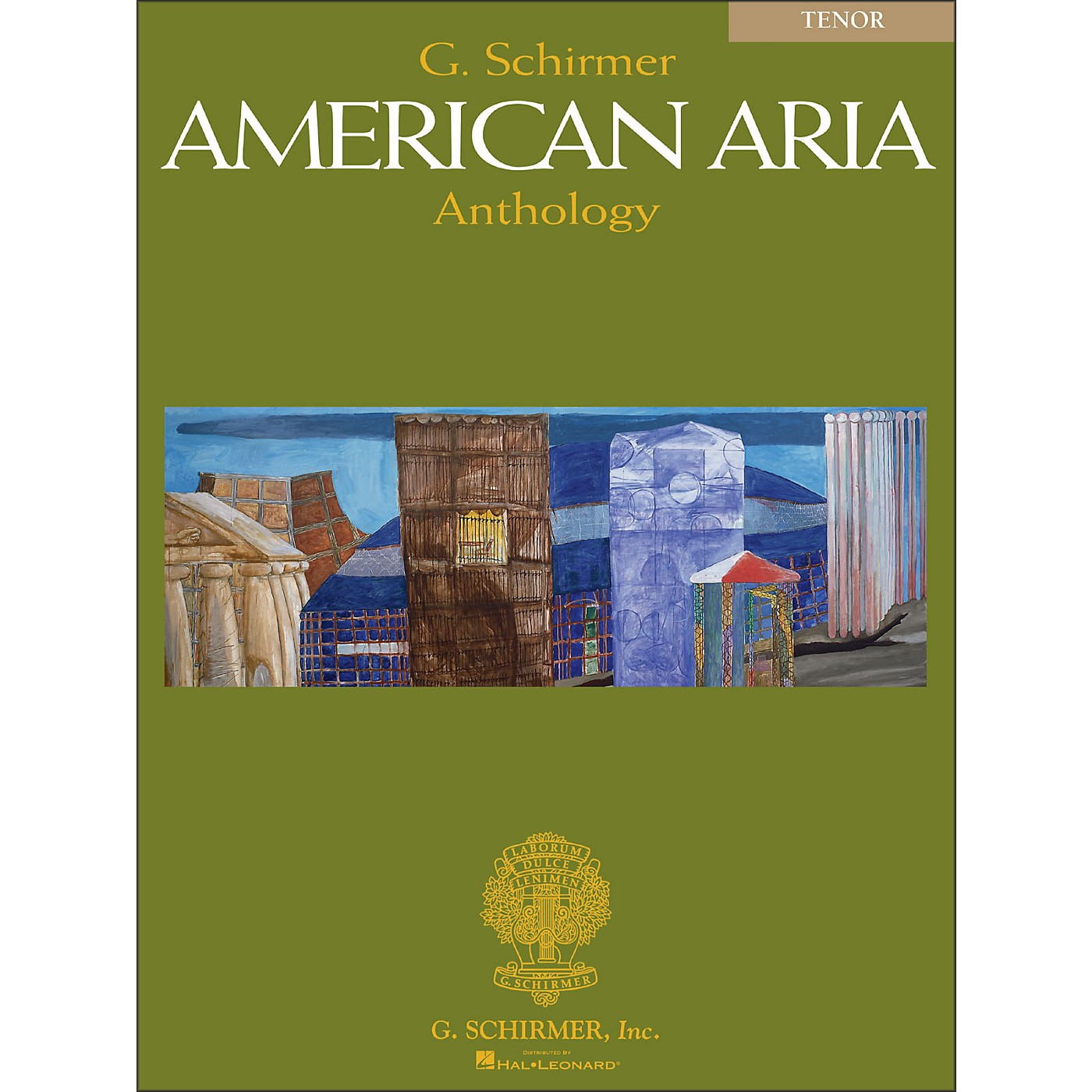 G. Schirmer G Schirmer American Aria Anthology for Tenor Voice thumbnail