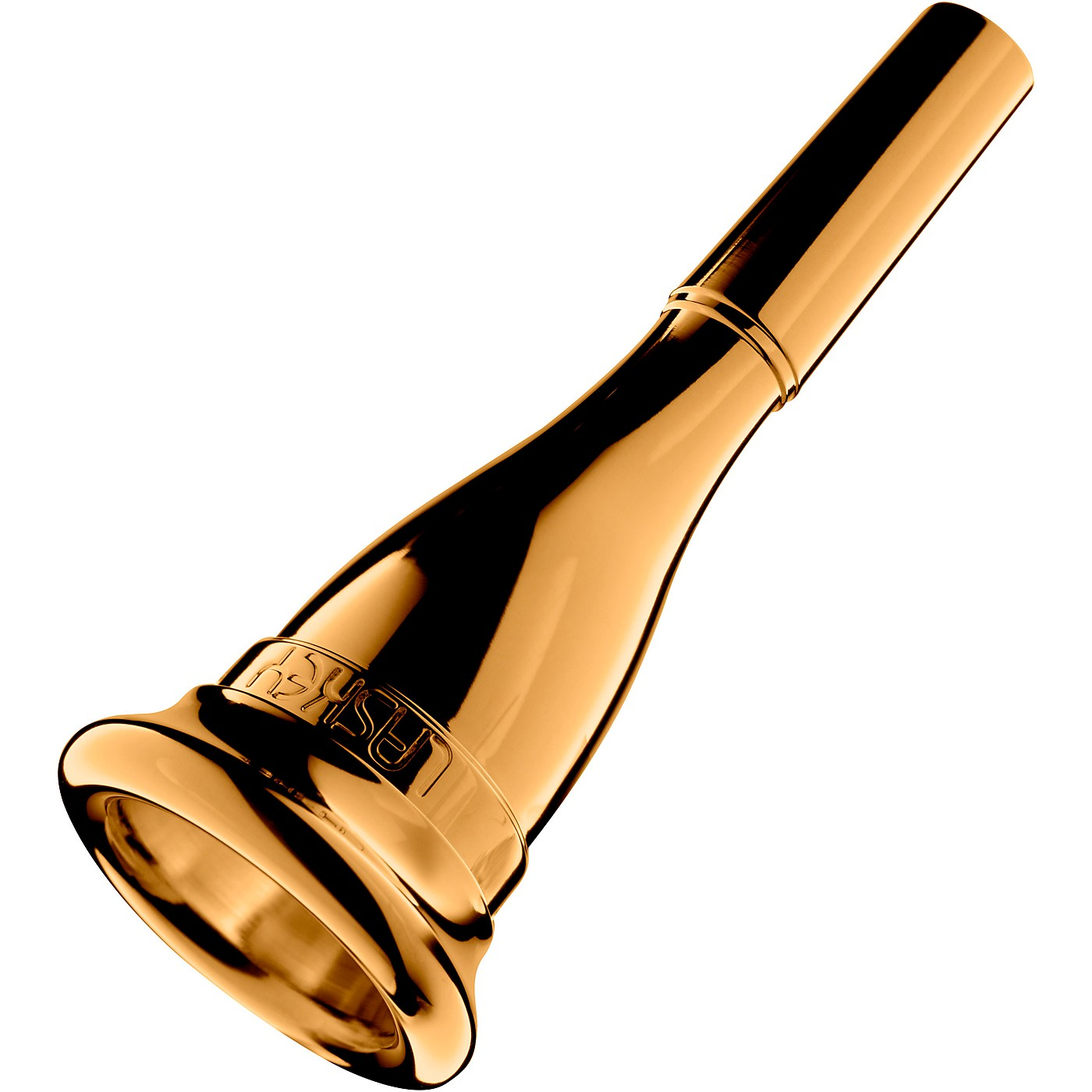 Laskey G Series Classic American Shank French Horn Mouthpiece in Gold thumbnail