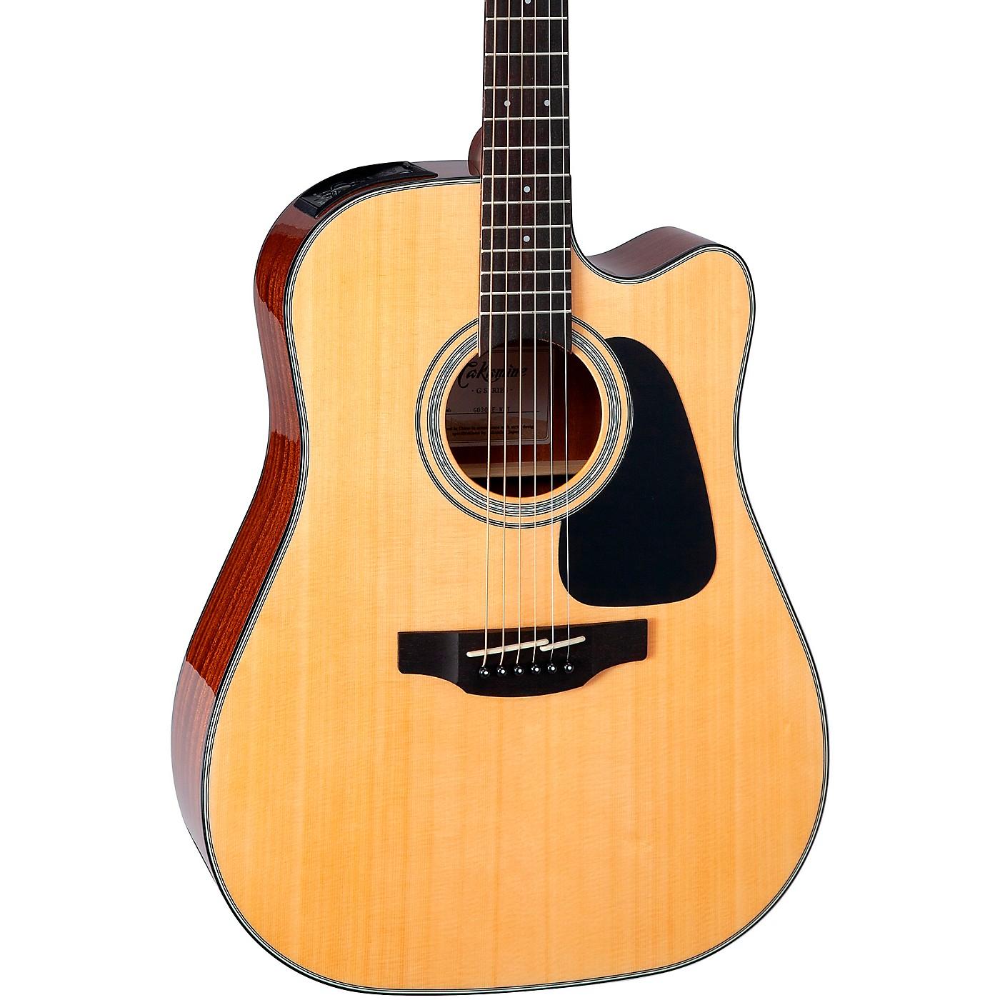 Takamine G Series GD30CE Dreadnought Cutaway Acoustic-Electric Guitar thumbnail