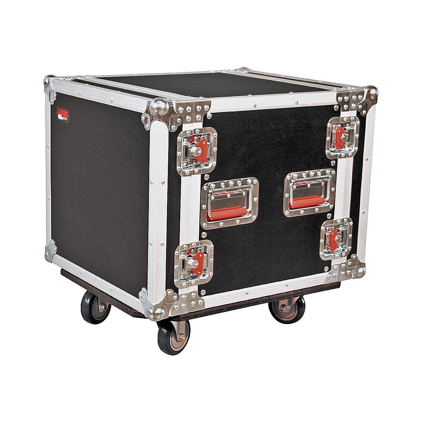 Gator G-Tour 10U Cast Rack Road Case with Casters thumbnail