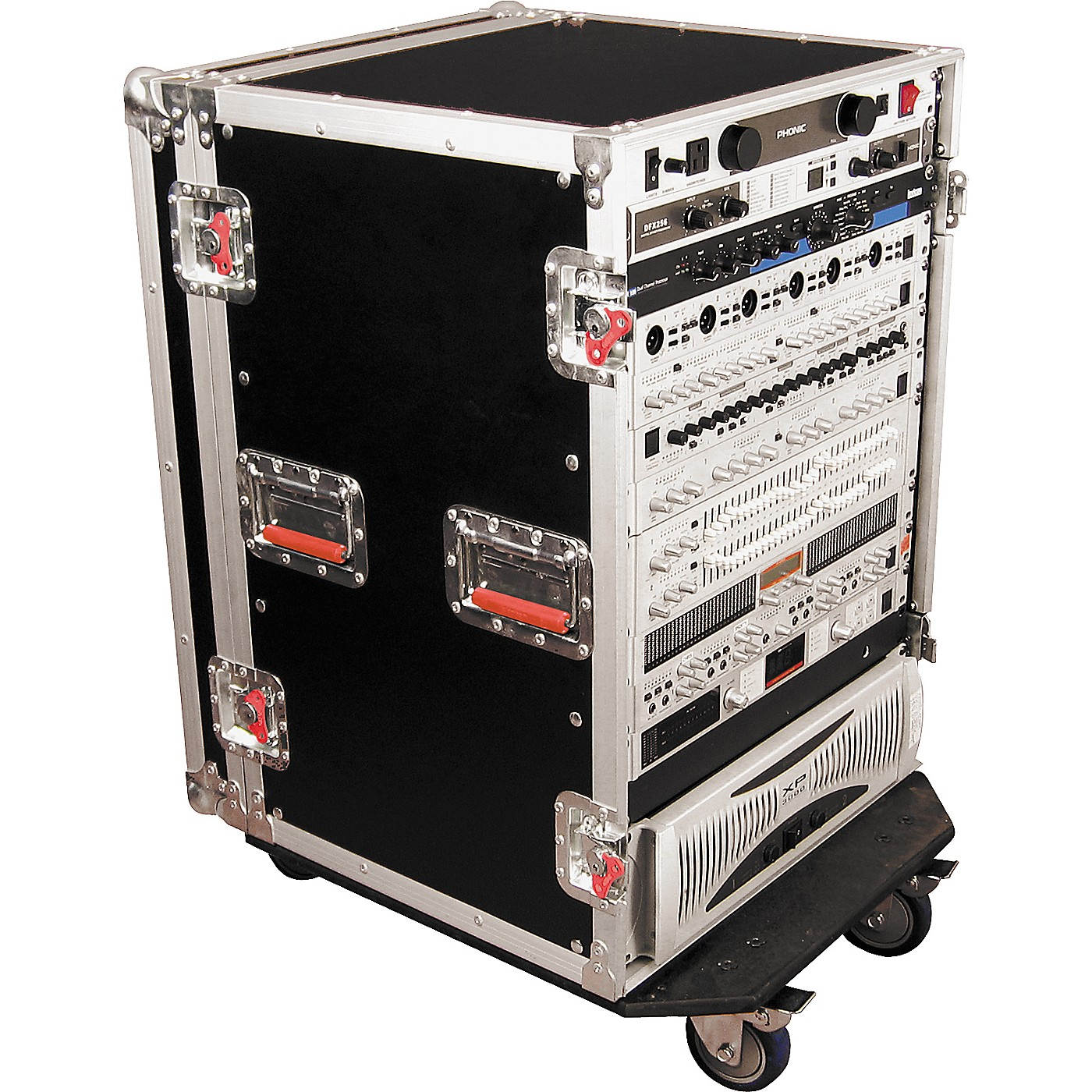 Gator G-Tour Rack Road Case with Casters thumbnail