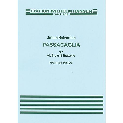 Music Sales G.F. Handel/Johan Halvorsen: Passacaglia In G Minor For Violin And Viola (Score/Pts) Music Sales America thumbnail