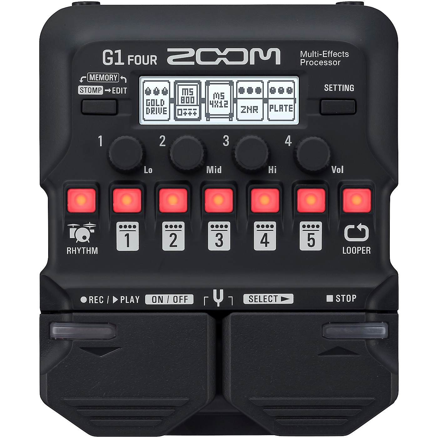 Zoom G1 FOUR Guitar Multi-Effects Processor thumbnail
