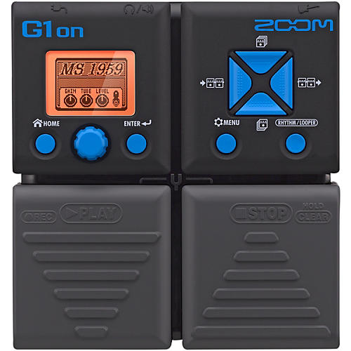 Zoom G1on Guitar Multi-Effects Pedal thumbnail